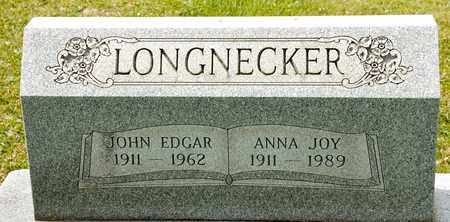 LONGNECKER, JOHN EDGAR - Richland County, Ohio   JOHN EDGAR LONGNECKER - Ohio Gravestone Photos