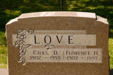 LOVE, CHARLES D - Richland County, Ohio | CHARLES D LOVE - Ohio Gravestone Photos