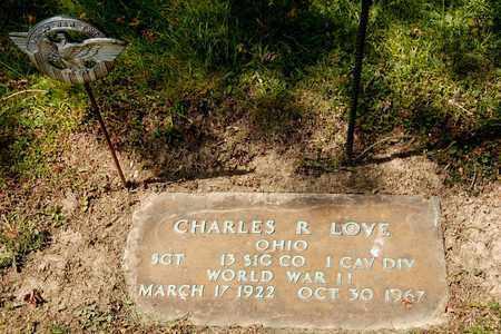 LOVE, CHARLES R - Richland County, Ohio | CHARLES R LOVE - Ohio Gravestone Photos