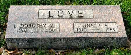 LOVE, DOROTHY M - Richland County, Ohio | DOROTHY M LOVE - Ohio Gravestone Photos