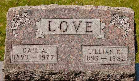 LOVE, LILLIAN C - Richland County, Ohio | LILLIAN C LOVE - Ohio Gravestone Photos