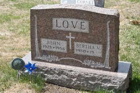 LOVE, JOHN - Richland County, Ohio | JOHN LOVE - Ohio Gravestone Photos
