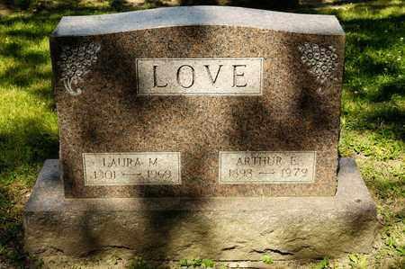 LOVE, ARTHUR E - Richland County, Ohio   ARTHUR E LOVE - Ohio Gravestone Photos