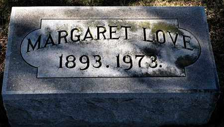 LOVE, MARGARET - Richland County, Ohio | MARGARET LOVE - Ohio Gravestone Photos