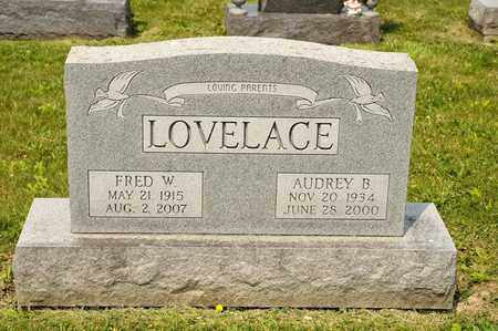 LOVELACE, FRED W - Richland County, Ohio | FRED W LOVELACE - Ohio Gravestone Photos