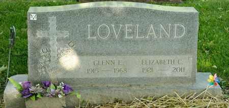 LOVELAND, ELIZABETH C - Richland County, Ohio | ELIZABETH C LOVELAND - Ohio Gravestone Photos