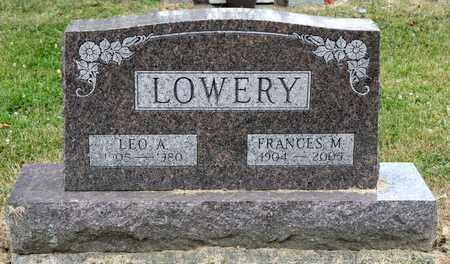 LOWERY, LEO A - Richland County, Ohio | LEO A LOWERY - Ohio Gravestone Photos