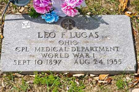 LUCAS, LEO F - Richland County, Ohio | LEO F LUCAS - Ohio Gravestone Photos