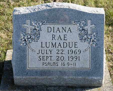 LUMADUE, DIANA RAE - Richland County, Ohio   DIANA RAE LUMADUE - Ohio Gravestone Photos