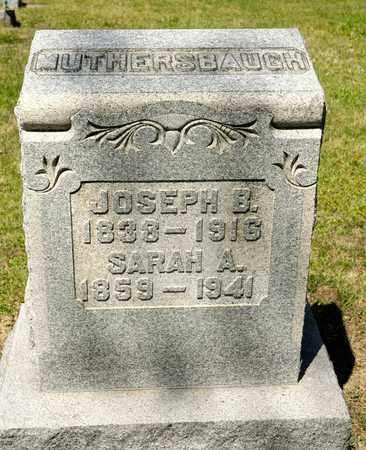 LUTHERSBAUGH, JOSEPH B - Richland County, Ohio | JOSEPH B LUTHERSBAUGH - Ohio Gravestone Photos