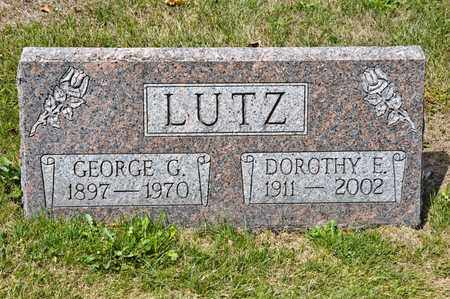 LUTZ, DOROTHY E - Richland County, Ohio | DOROTHY E LUTZ - Ohio Gravestone Photos