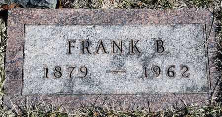 LUX, FRANK B - Richland County, Ohio | FRANK B LUX - Ohio Gravestone Photos