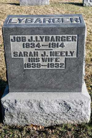 NEELY LYBARGER, SARAH J - Richland County, Ohio | SARAH J NEELY LYBARGER - Ohio Gravestone Photos