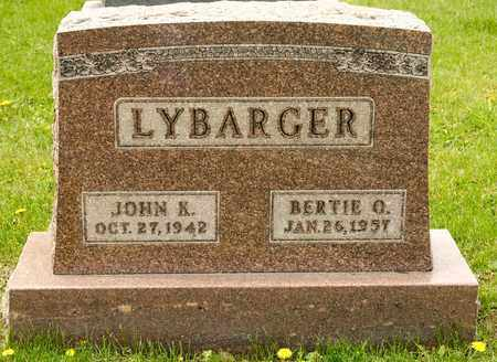 LYBARGER, BERTIE O - Richland County, Ohio | BERTIE O LYBARGER - Ohio Gravestone Photos