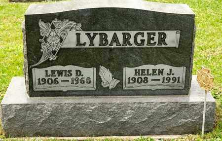 LYBARGER, LEWIS D - Richland County, Ohio   LEWIS D LYBARGER - Ohio Gravestone Photos