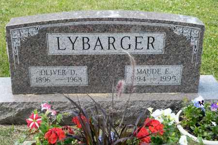 LYBARGER, OLIVER D - Richland County, Ohio | OLIVER D LYBARGER - Ohio Gravestone Photos