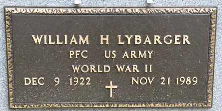 LYBARGER, WILLIAM H - Richland County, Ohio | WILLIAM H LYBARGER - Ohio Gravestone Photos