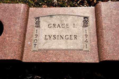 LYSINGER, GRACE I - Richland County, Ohio | GRACE I LYSINGER - Ohio Gravestone Photos