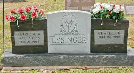 LYSINGER, PATRICIA A - Richland County, Ohio | PATRICIA A LYSINGER - Ohio Gravestone Photos