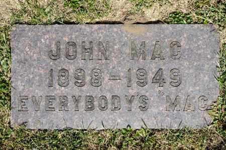 MAC, JOHN - Richland County, Ohio   JOHN MAC - Ohio Gravestone Photos