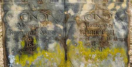 MACANE, ROSANNAH - Richland County, Ohio | ROSANNAH MACANE - Ohio Gravestone Photos