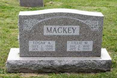 MACKEY, LILLIE M - Richland County, Ohio | LILLIE M MACKEY - Ohio Gravestone Photos