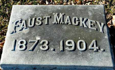 MACKEY, FAUST - Richland County, Ohio | FAUST MACKEY - Ohio Gravestone Photos