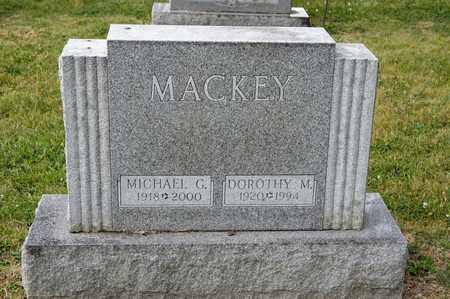 MACKEY, DOROTHY M - Richland County, Ohio   DOROTHY M MACKEY - Ohio Gravestone Photos