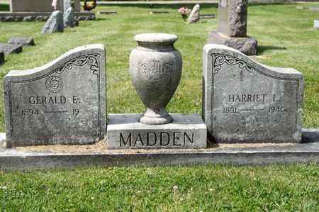 MADDEN, HARRIET L - Richland County, Ohio | HARRIET L MADDEN - Ohio Gravestone Photos