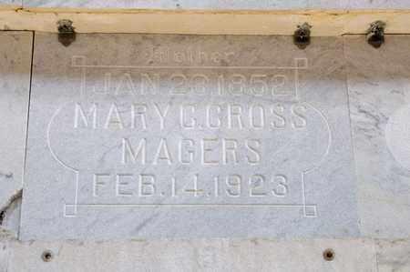 MAGERS, MARY C - Richland County, Ohio | MARY C MAGERS - Ohio Gravestone Photos