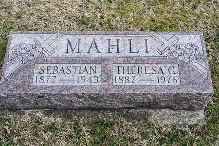 MAHLI, SEBASTIAN - Richland County, Ohio | SEBASTIAN MAHLI - Ohio Gravestone Photos