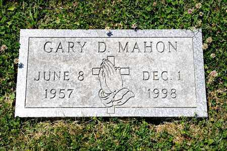 MAHON, GARY D - Richland County, Ohio | GARY D MAHON - Ohio Gravestone Photos