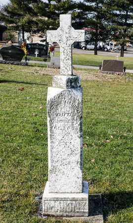 MAHONY, PATRICK - Richland County, Ohio | PATRICK MAHONY - Ohio Gravestone Photos
