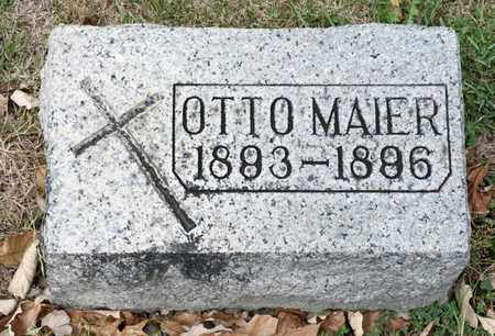 MAIER, OTTO - Richland County, Ohio | OTTO MAIER - Ohio Gravestone Photos
