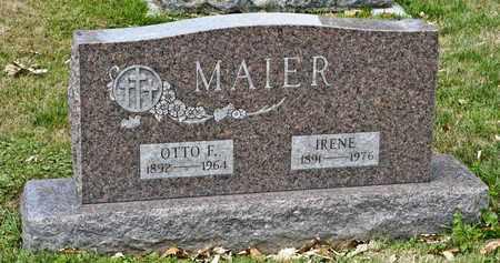 MAIER, IRENE - Richland County, Ohio | IRENE MAIER - Ohio Gravestone Photos