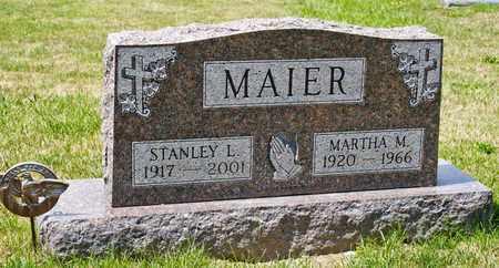 MAIER, MARTHA M - Richland County, Ohio   MARTHA M MAIER - Ohio Gravestone Photos
