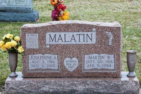 MALATIN, JOSEPHINE A - Richland County, Ohio | JOSEPHINE A MALATIN - Ohio Gravestone Photos