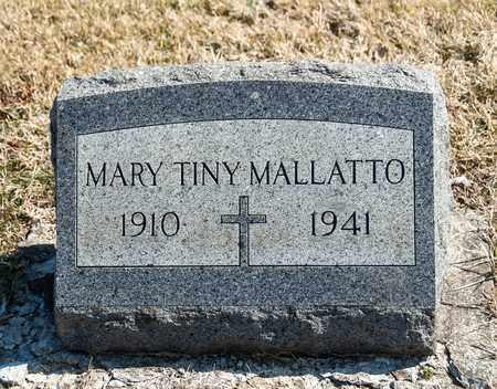 MALLATTO, MARY TINDARA - Richland County, Ohio   MARY TINDARA MALLATTO - Ohio Gravestone Photos