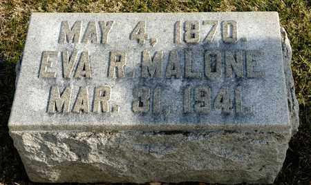 MALONE, EVA R - Richland County, Ohio   EVA R MALONE - Ohio Gravestone Photos
