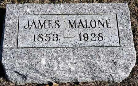 MALONE, JAMES - Richland County, Ohio   JAMES MALONE - Ohio Gravestone Photos