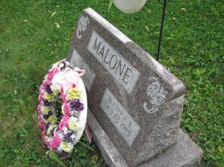 MALONE, BEATRICE B. - Richland County, Ohio | BEATRICE B. MALONE - Ohio Gravestone Photos