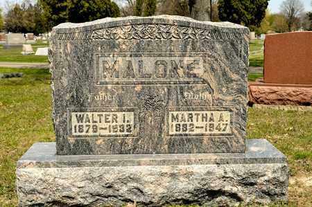 MALONE, WALTER I - Richland County, Ohio | WALTER I MALONE - Ohio Gravestone Photos