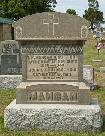 MANGAN, JOHN L - Richland County, Ohio   JOHN L MANGAN - Ohio Gravestone Photos