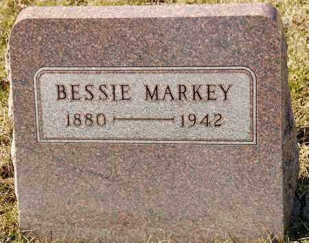 MARKEY, BESSIE - Richland County, Ohio   BESSIE MARKEY - Ohio Gravestone Photos