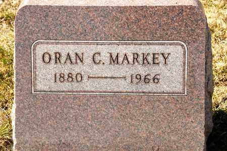 MARKEY, ORAN C - Richland County, Ohio | ORAN C MARKEY - Ohio Gravestone Photos