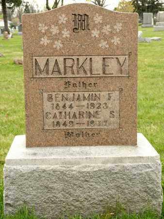 MARKLEY, BENJAMIN F - Richland County, Ohio | BENJAMIN F MARKLEY - Ohio Gravestone Photos