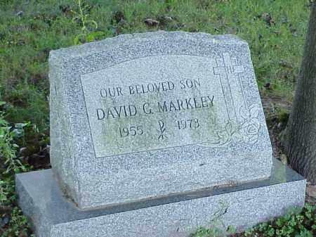MARKLEY, DAVID G. - Richland County, Ohio   DAVID G. MARKLEY - Ohio Gravestone Photos