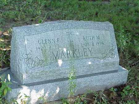 MARKLEY, GLENN F. - Richland County, Ohio | GLENN F. MARKLEY - Ohio Gravestone Photos