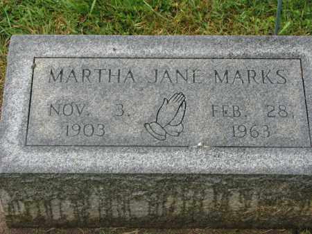 MARKS, MARTHA JANE - Richland County, Ohio   MARTHA JANE MARKS - Ohio Gravestone Photos
