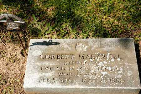 MARKWELL, CORBETT - Richland County, Ohio | CORBETT MARKWELL - Ohio Gravestone Photos
